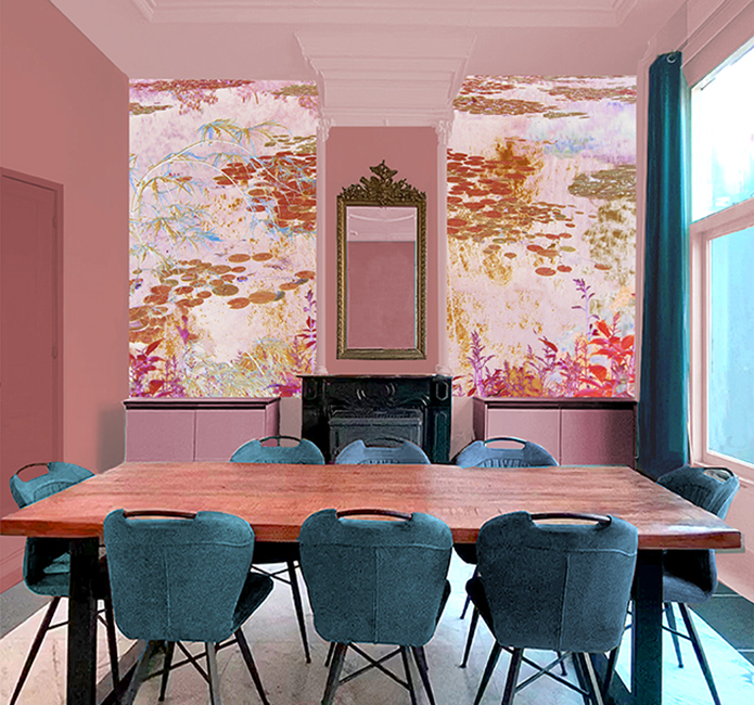 Interieur Japan Monet
